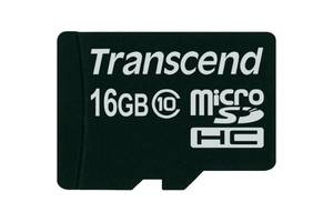 TRANSCEND microSDHC 16 GB Class 10 no adapter (Код товара:2039)