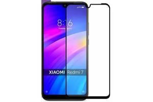 Защитное стекло Xiaomi Redmi 7 Black Matte (Код товара:10297)