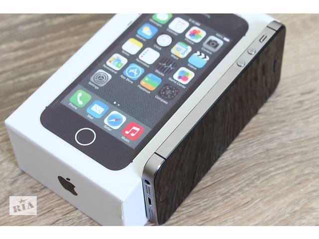 купить бу Apple iPhone 5S-32GB Space Gray (оригинал) в Херсоні