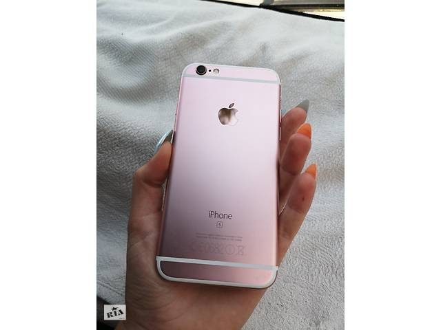 продам Apple iPhone 6s 32 gb rose gold  бу в Виннице