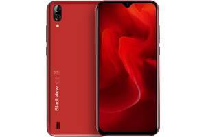 Мобильный телефон Blackview A60 1/16GB Red (6931548306078)