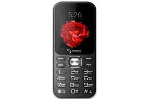 Мобильный телефон Sigma mobile X-style 32 Boombox Dual Sim Black; 2.4 (320х240) TN / клавиатурный моноблок / MediaTek...
