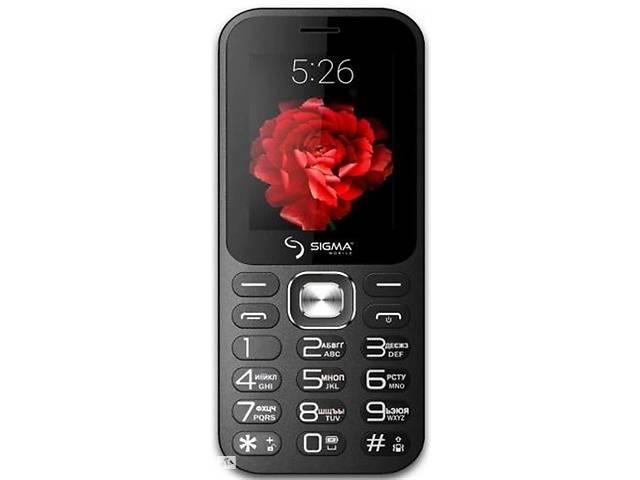 купить бу Мобильный телефон Sigma mobile X-style 32 Boombox Dual Sim Black; 2.4 (320х240) TN / клавиатурный моноблок / MediaTek... в Харкові