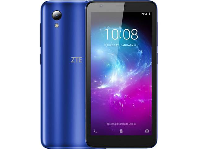 Мобильный телефон ZTE Blade L8 Dual Sim Blue- объявление о продаже  в Харькове