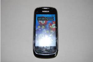 б/у Сенсорные мобильные телефоны Nokia Nokia C7-00 Frosty Metal