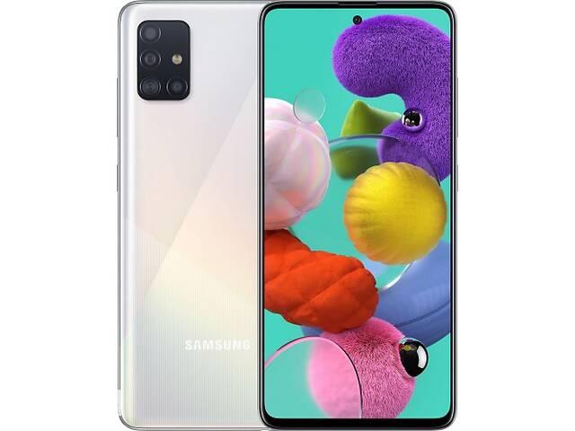 купить бу Samsung Galaxy A51 SM-A515F 6/128GB White (SM-A515FZWWSEK) UA (Код товара:10170) в Харькове