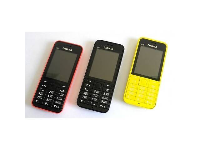 Мобильный телефон Nokia Asha 220 Dual Sim ЖЕЛТЫЙ/КРАСНЫЙ- объявление о продаже  в Днепре (Днепропетровск)