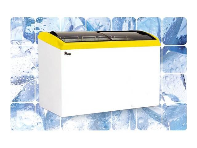 Морозильный ларь JUKA 333 л, 4 корзины,  с гнутым стеклом- объявление о продаже  в Киеве