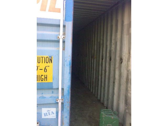 купить бу Морський контейнер, 40 футів, допоможу з завантаженям та доставкою.  в Ровно