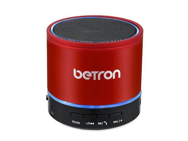 купить бу Bluetooth динамік Betron KBS08, Беспроводное портативний пристрій, Bluetooth динамік з вбудованим мікрофоном. в Броварах