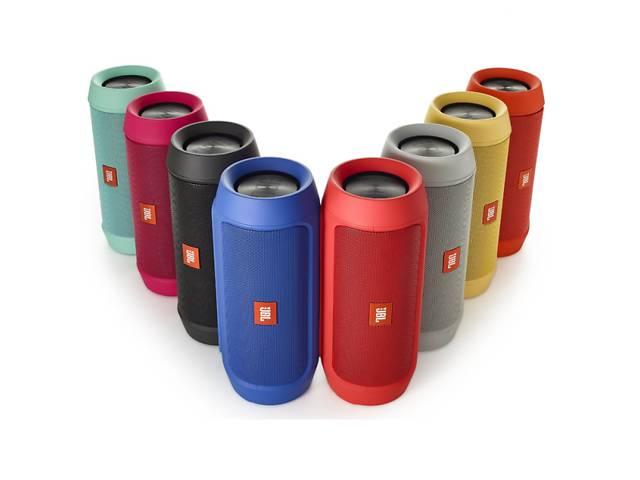 купить бу Портативная Bluetooth колонка в стиле JBL CHARGE 2 синий в Києві