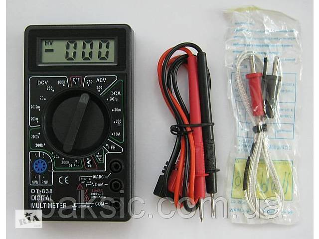 продам Мультиметр тестер DT-838 бу в Харькове
