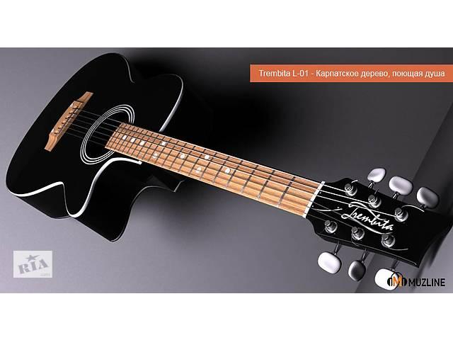 купить бу Гитара акустическая с вырезом Новая в Киеве