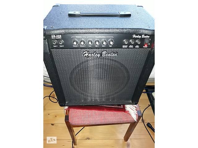 Басовый комбікHarley Benton HB 40B. Комбик для бас-гитары.- объявление о продаже  в Надворной