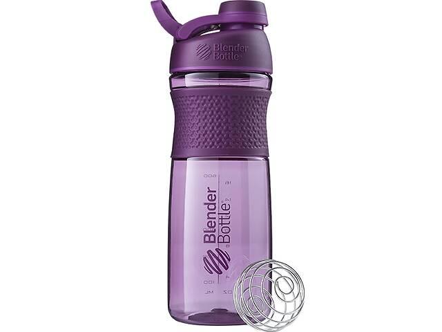 купить бу Бутылка-шейкер спортивная BlenderBottle SportMixer Twist 820ml Plum SKL24-144927 в Одессе