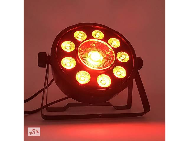 бу Светодиодный прожектор Led par 9×10W + 1×30W RGB 3в1 dmx Светомузыка Цветомузыка Лед пар в Каменском (Днепродзержинск)