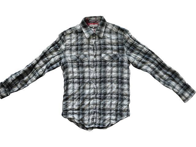 Мужская рубашка жатка в клетку TED BAKER London- объявление о продаже  в Полтаве