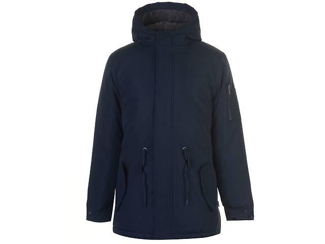 купить бу Куртка Lee Cooper Lined Parka Jacket Mens L Синяя (60089522-R) в Киеве