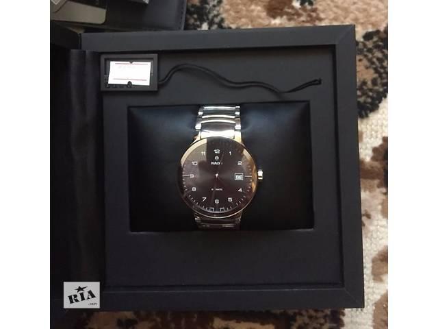 купить бу Мужские часы RADO 658.0939.3.011 механика (Оригинал) в Киеве