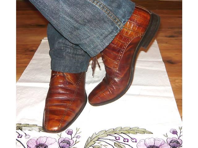 продам Мужские демисезонные стильные ботинки/полуботинки от Tomasso  бу в Николаеве