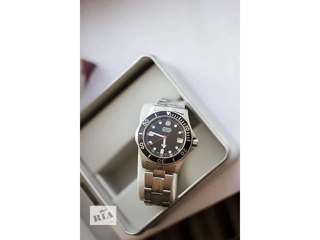 купить бу Мужские кварцевые часы Wenger Swiss Military 7907 в Харькове