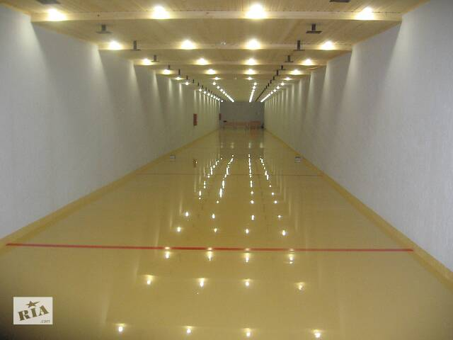 купить бу Наливні полімерні підлоги  в Україні