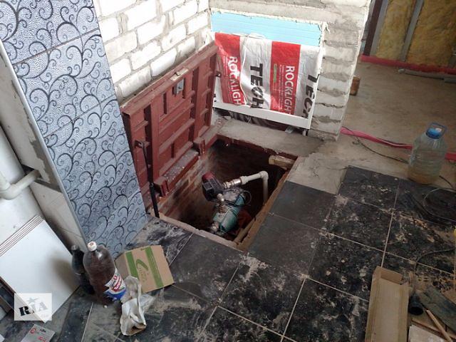 купить бу Напольный люк невидимка. в Днепре (Днепропетровск)