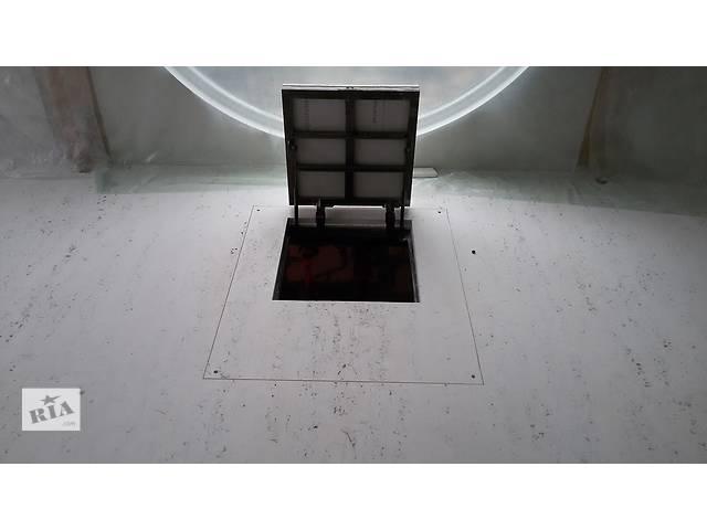Напольный ревизионный  люк под плитку, ламинат, гранит на амортизаторах для входа в подвал купить- объявление о продаже   в Украине