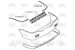 Направляющая заднего бампера Mitsubishi Lancer 9 04-09 левая (FPS) Fps FP 4805 981
