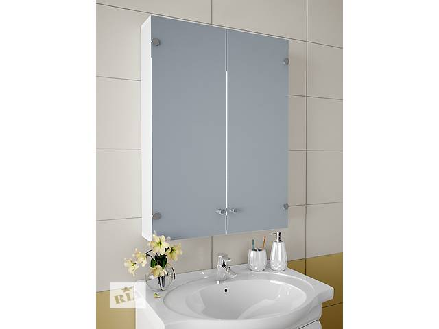 купить бу  Навесной, зеркальный шкаф для ванной комнаты А-68 в Киеве