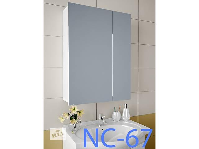 продам Навесной, зеркальный шкаф для ванной комнаты NC-67 бу в Киеве