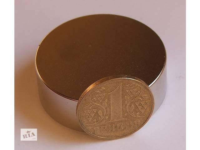 продам Неодимовый магнит магніт 45х20 Сцепление ― 70 кг. от производителя  бу в Черкассах