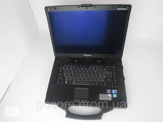 """продам 15.4"""" Защищённый ноутбук PANASONIC TOUGHBOOK CF-52 mk3 CORE i5 4GB DDR3 160GB HDD бу в Киеве"""