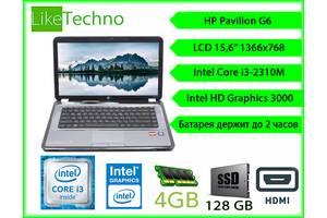 б/в Ноути для роботи та навчання HP (Hewlett Packard) Hp Pavilion g6