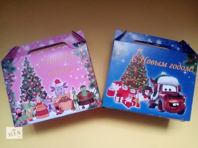 Новогодние коробки- объявление о продаже  в Луганске