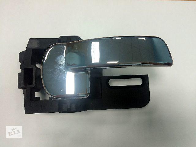 Новые ручки дверей (левая/правая) хром внутриние для легкового авто Nissan Qashqai 06-13 (Ниссан Кашкай),  лицензия- объявление о продаже  в Ровно