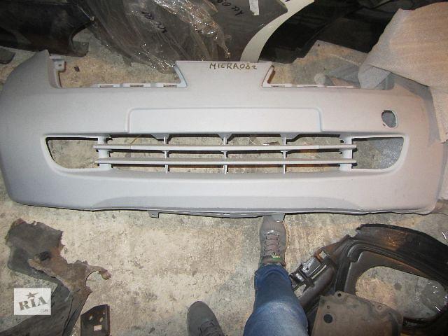 Новый бампер передний для легкового авто Nissan Micra 2005- объявление о продаже  в Киеве