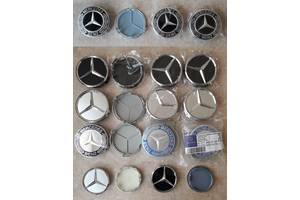Нові Ковпаки на диск Mercedes
