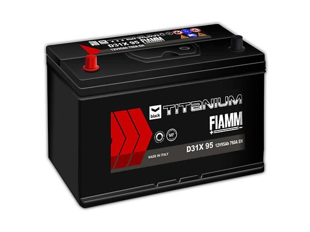 купить бу Новый стартерный аккумулятор для легкового авто Fiamm BLACK TITANIUM 95A в Киеве