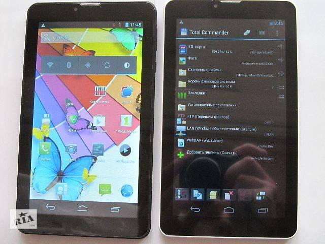 купить бу новый Android 4.X 7 с GPS 3G  2-SIM  WIFI в Львове