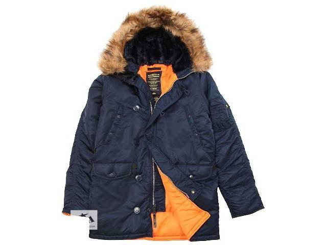 бу Американские куртки аляски Alpha Industries в Львове