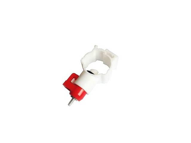 Ниппельная поилка с креплением на круглую трубу 25 мм (360 градусов)- объявление о продаже  в Нетешине