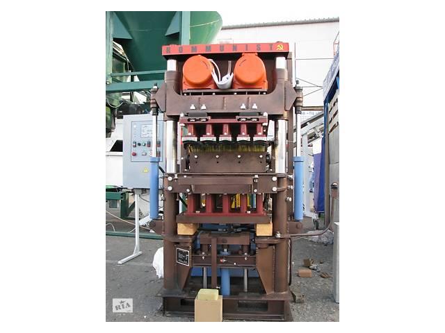 купить бу Оборудование для производства тротуарной плитки в Броварах