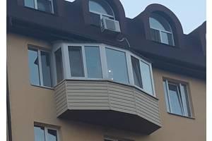Обшивка, утепление балкона