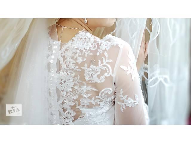 Очень красивое свадебное платье / Весільна сукня ТОРГ- объявление о продаже  в Черкассах