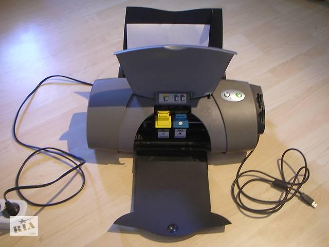 бу Цветной струйный принтер б/у Lexmark Color Inkjet Printer P707 в Одессе