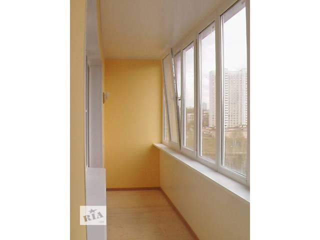 продам Окна балконы лоджии (вынос, обшивка, утепление) бу в Киеве