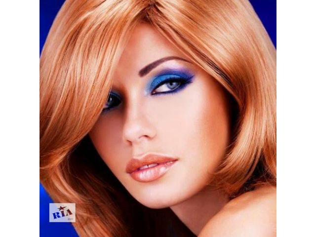 купить бу Окрашивание волос + стрижка + укладка = 200грн в Киеве