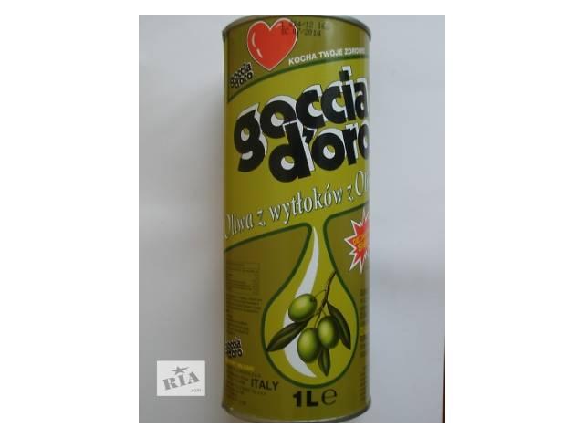 продам Оливковое масло GOCCIA D'ORO. 1л. Италия. бу в Львове