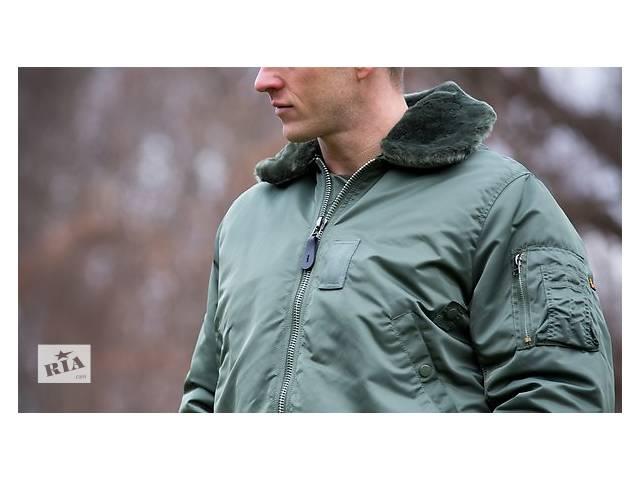 Оригинальная летная куртка B-15 Alpha Industries, США- объявление о продаже  в Львове